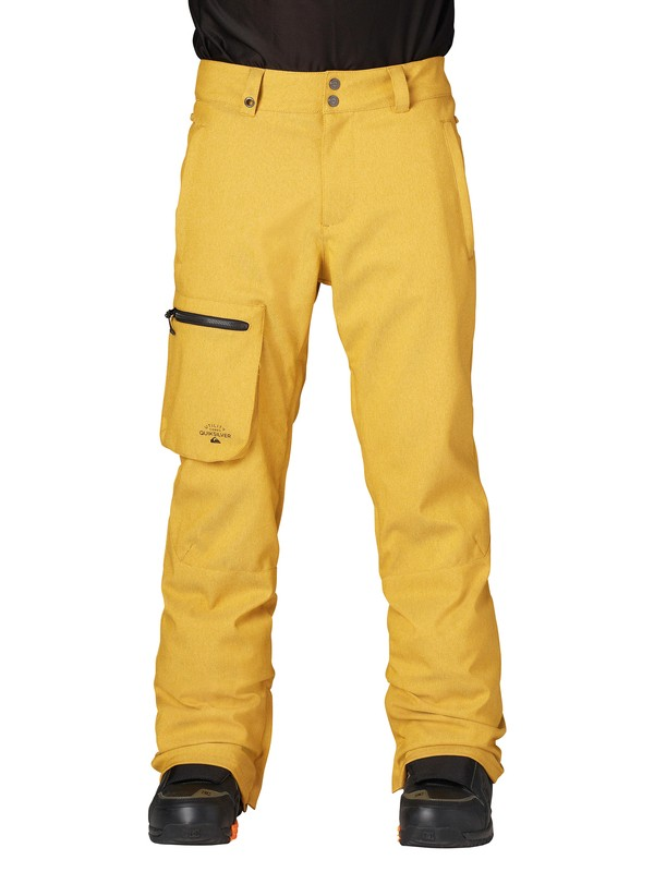 0 Lincoln 15K Pants Yellow AQYTP00021 Quiksilver