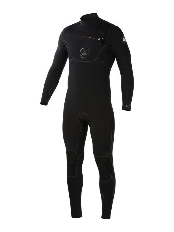 0 Cypher 3/2mm Chest Zip Wetsuit Black AQYW103004 Quiksilver