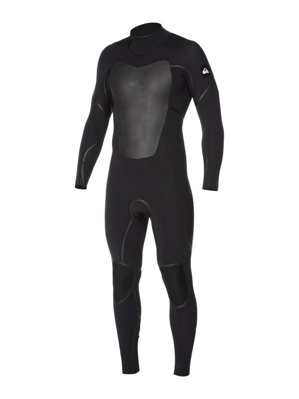 0 Pyre 3/2mm Back Zip Wetsuit Black AQYW103007 Quiksilver