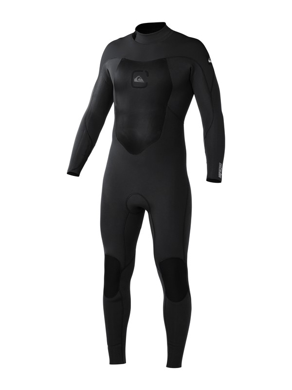 0 Syncro 3/2mm Back Zip  Wetsuit Black AQYW103009 Quiksilver