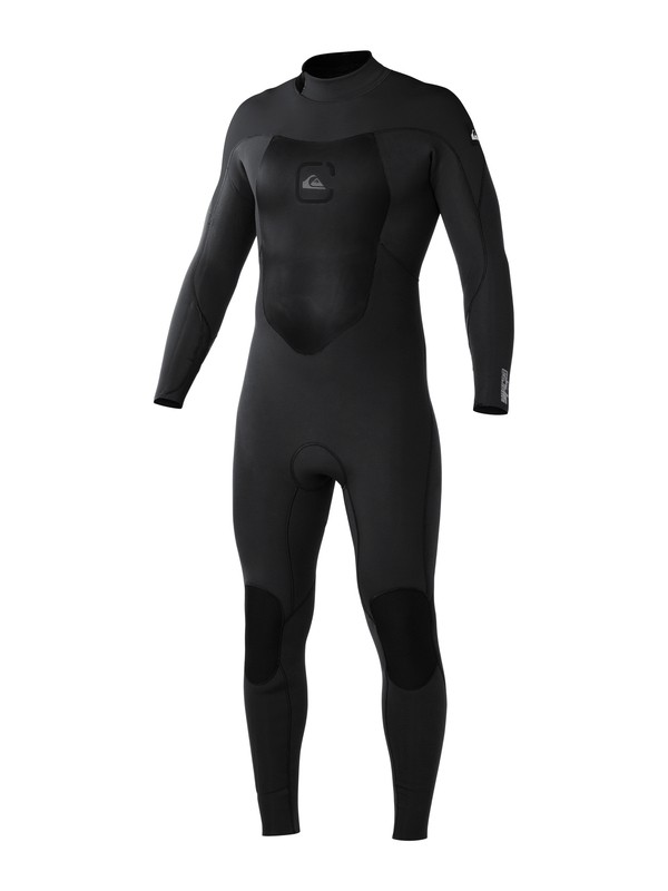 0 Syncro 4/3mm Back Zip Wetsuit Black AQYW103019 Quiksilver