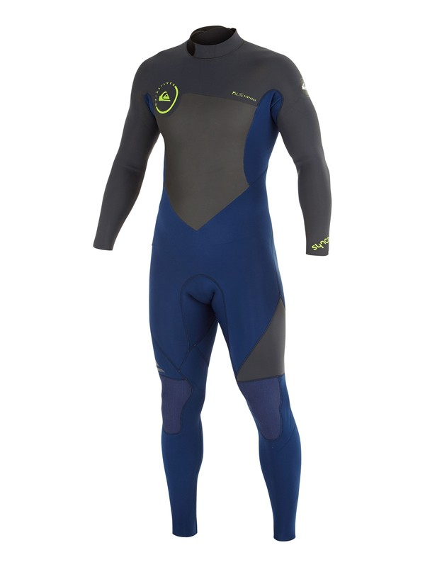 0 Syncro GBS 3/2mm Back Zip Wetsuit  AQYW103038 Quiksilver