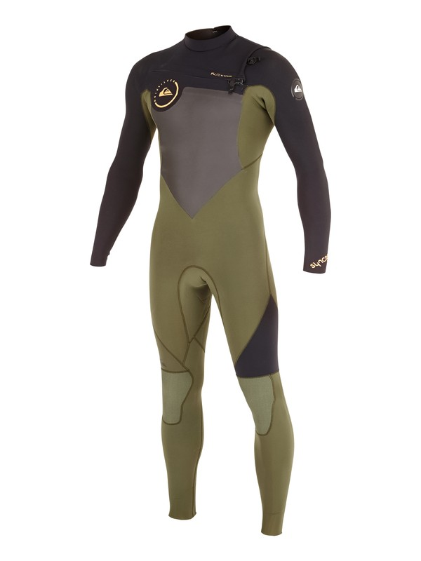 0 Syncro GBS 4/3mm Chest Zip Wetsuit  AQYW103076 Quiksilver