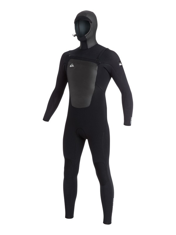 0 Syncro 5/4/3mm Hooded Chest Zip Wetsuit  AQYW203004 Quiksilver