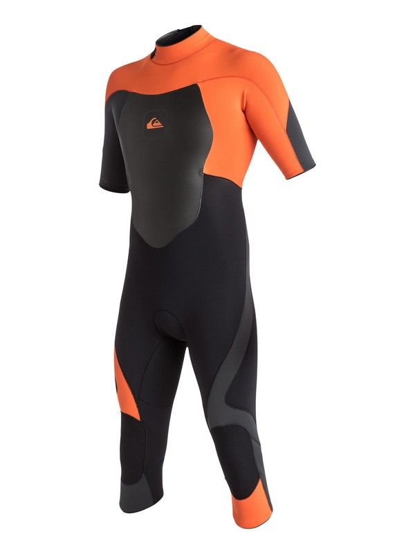 0 Syncro 3/2mm - Back Zip Springsuit Orange AQYW303016 Quiksilver