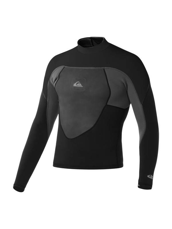 0 Syncro 1.5mm Smoothie Jacket Black AQYW803002 Quiksilver