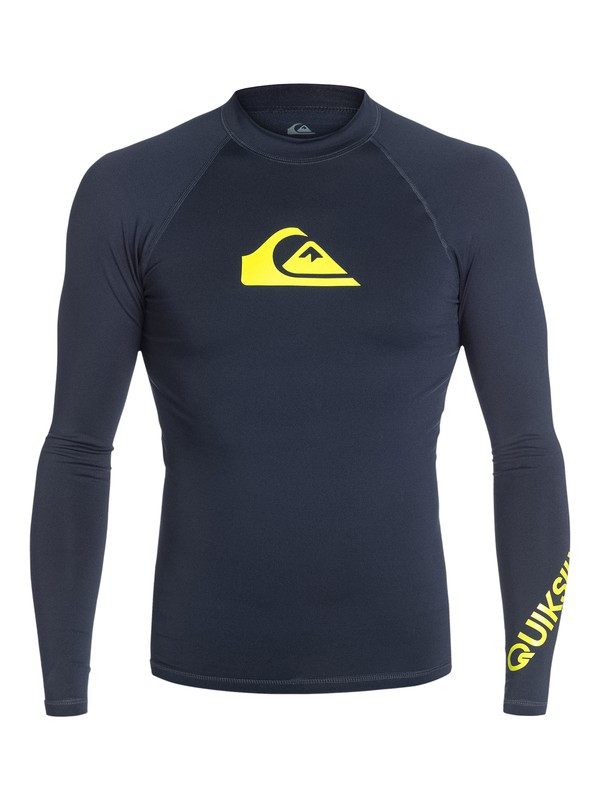 0 All Time - Long Sleeve Rash Vest  AQYWR03001 Quiksilver