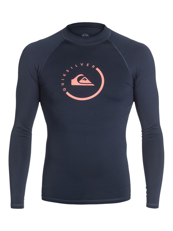 0 Lock Up - Long Sleeve Rash Vest  AQYWR03005 Quiksilver