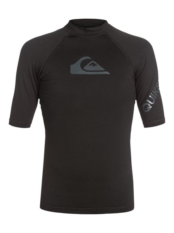 0 Heater - Short Sleeve Rash Vest  AQYWR03018 Quiksilver