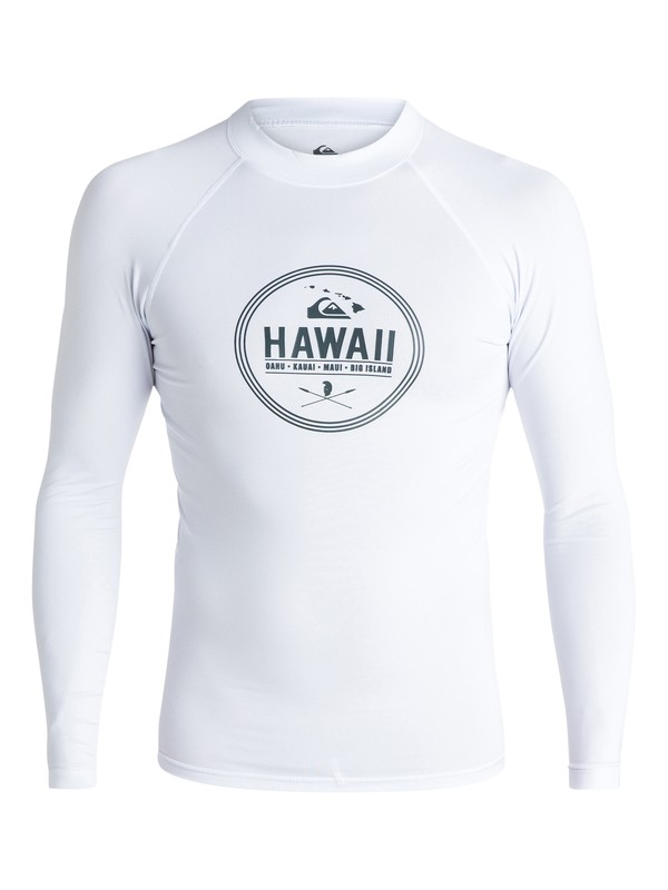 0 Island Style - Long Sleeve Rash Vest  AQYWR03023 Quiksilver