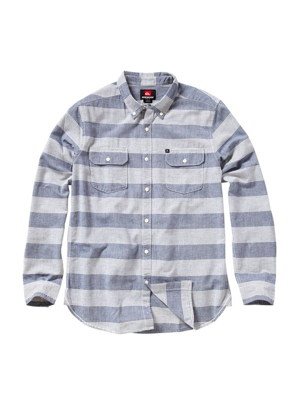 0 Tube Release Long Sleeve Oxford Shirt  AQYWT00043 Quiksilver