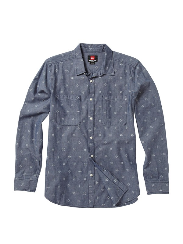 0 Range Life Long Sleeve Shirt  AQYWT00068 Quiksilver