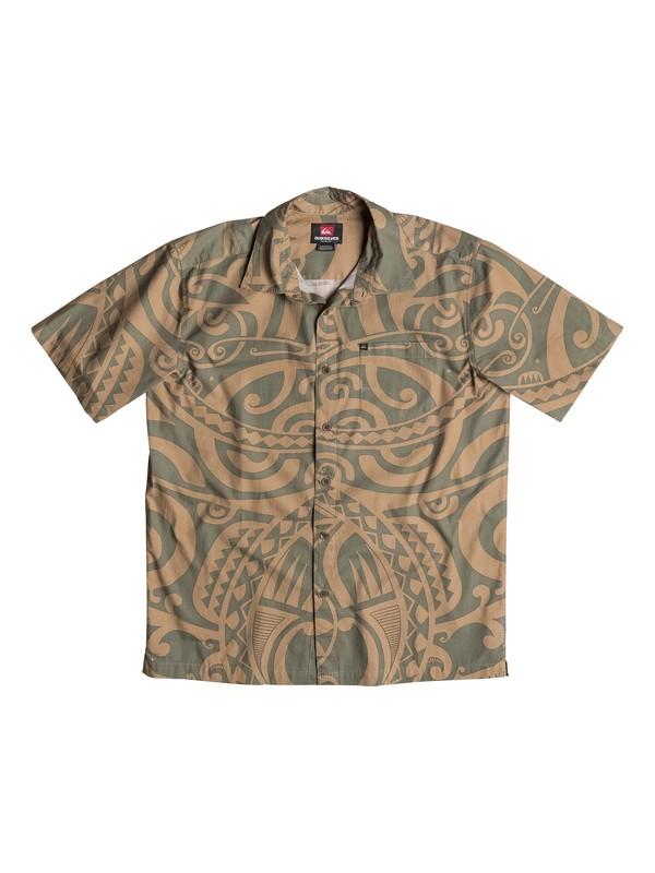 0 Pua Short Sleeve Shirt  AQYWT00151 Quiksilver