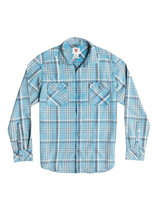 0 Tang Long Sleeve Flannel Shirt  AQYWT03023 Quiksilver