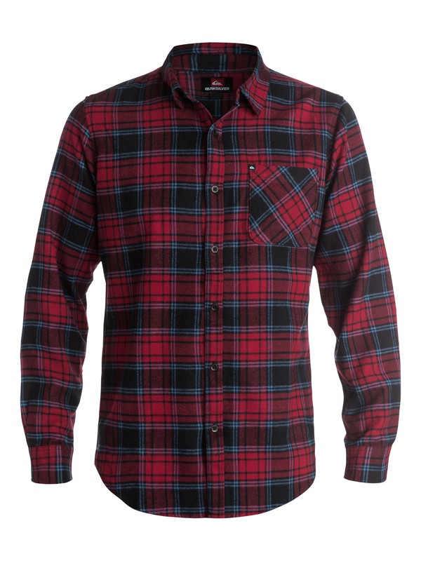 0 Bam Bam Long Sleeve Flannel Shirt  AQYWT03030 Quiksilver