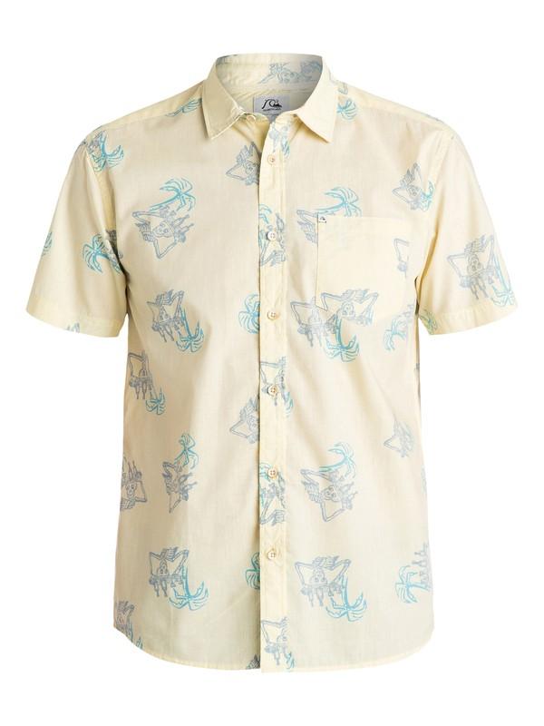 0 Dead Thursty Short Sleeve Shirt  AQYWT03043 Quiksilver