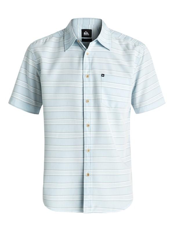 0 Seajam Short Sleeve Shirt Blue AQYWT03093 Quiksilver