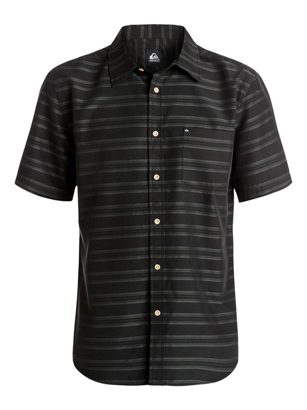 0 Seajam Short Sleeve Shirt Black AQYWT03093 Quiksilver