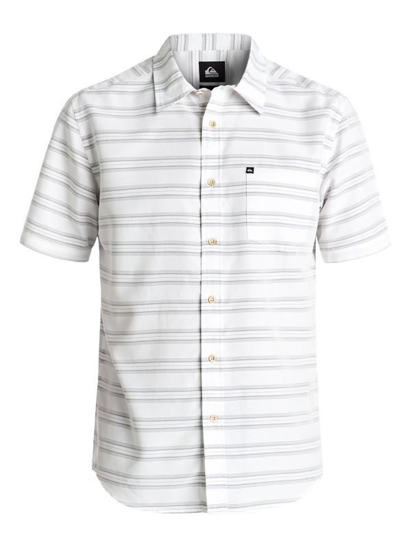 0 Seajam Short Sleeve Shirt White AQYWT03093 Quiksilver