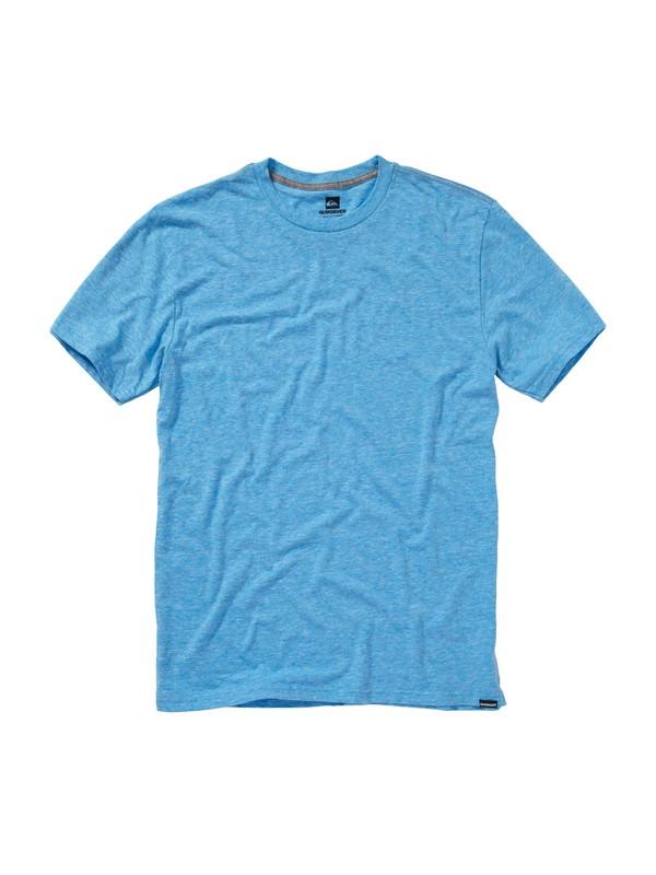 0 Blank Premium Heather Slim Fit T-Shirt  AQYZT00437 Quiksilver