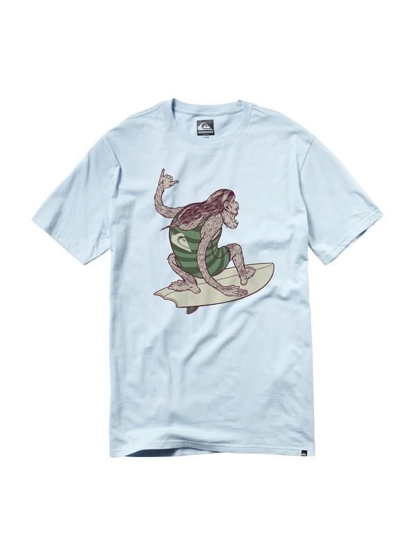 0 Big Foot Slim Fit T-Shirt  AQYZT00563 Quiksilver