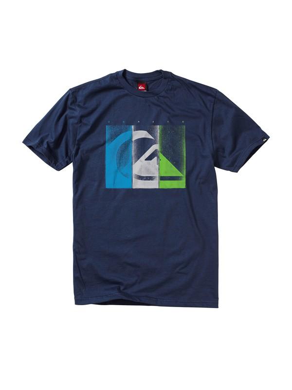 0 Damaged T-Shirt  AQYZT00702 Quiksilver