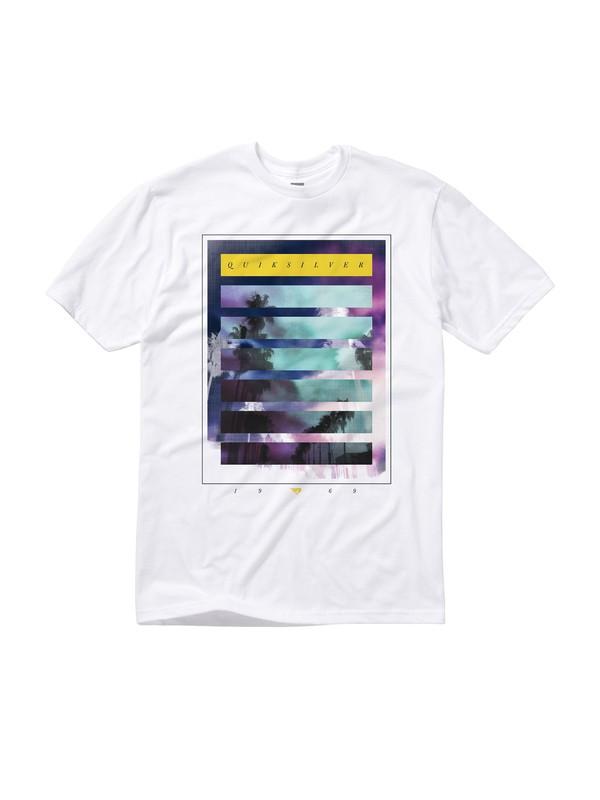 0 Neon Grey T-Shirt  AQYZT01107 Quiksilver