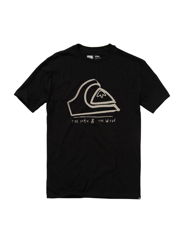 0 Mounds Slim T-Shirt  AQYZT01124 Quiksilver