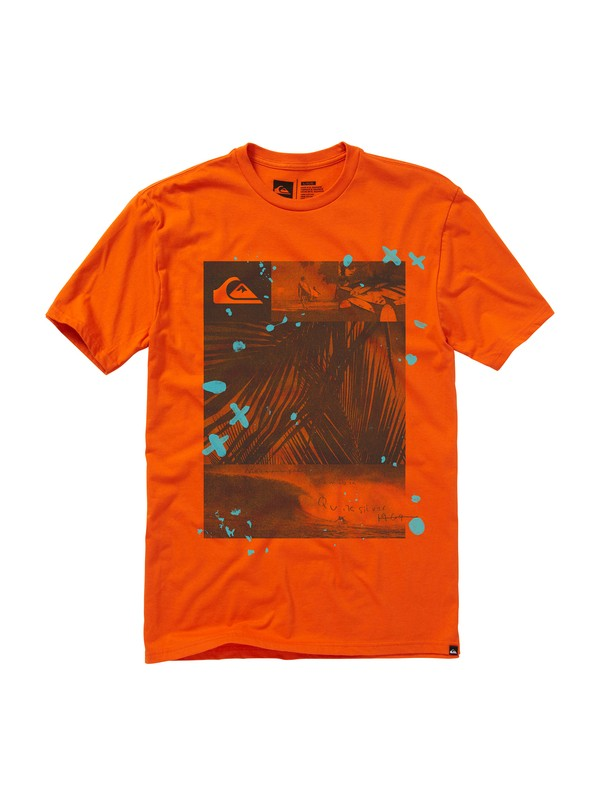 0 Outlaw Slim Fit T-Shirt  AQYZT01126 Quiksilver