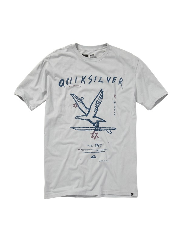 0 First Flight Slim Fit T-Shirt  AQYZT01131 Quiksilver