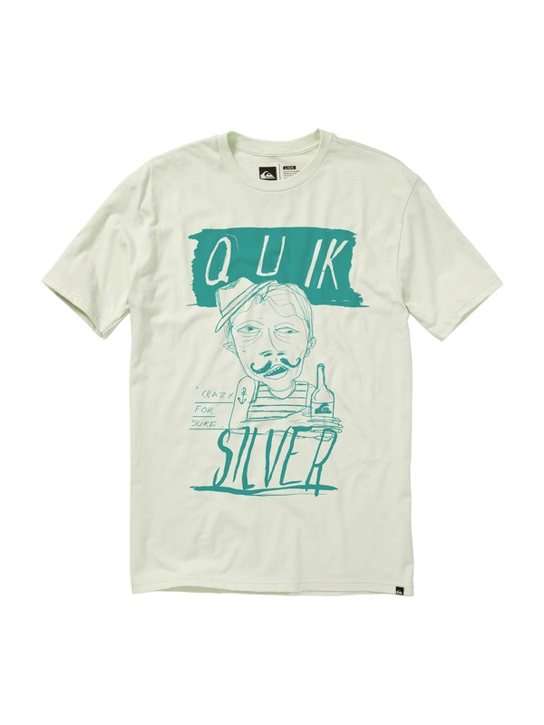 0 Crazy Slim Fit T-Shirt  AQYZT01132 Quiksilver