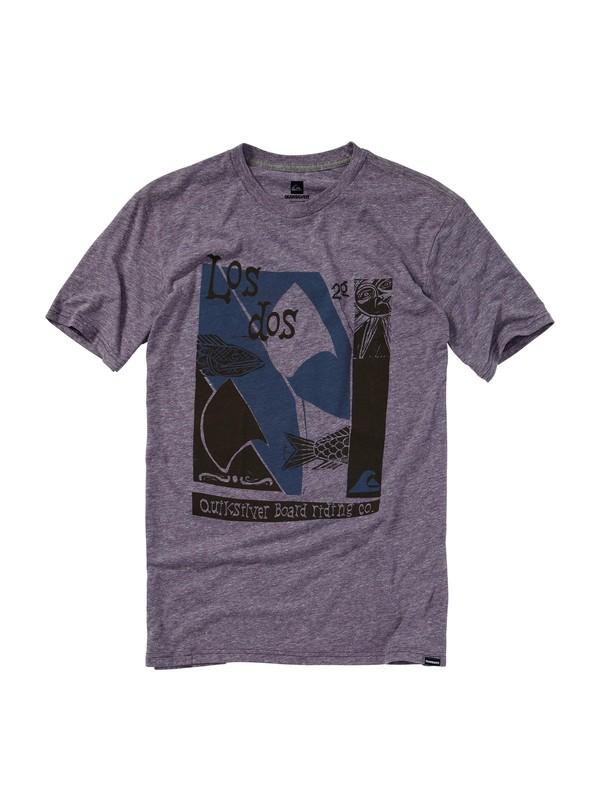 0 Los Dos Slim Fit T-Shirt  AQYZT01151 Quiksilver