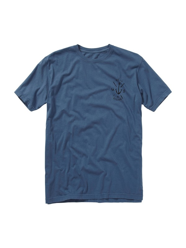 0 Hooked Slim Fit T-Shirt  AQYZT01157 Quiksilver