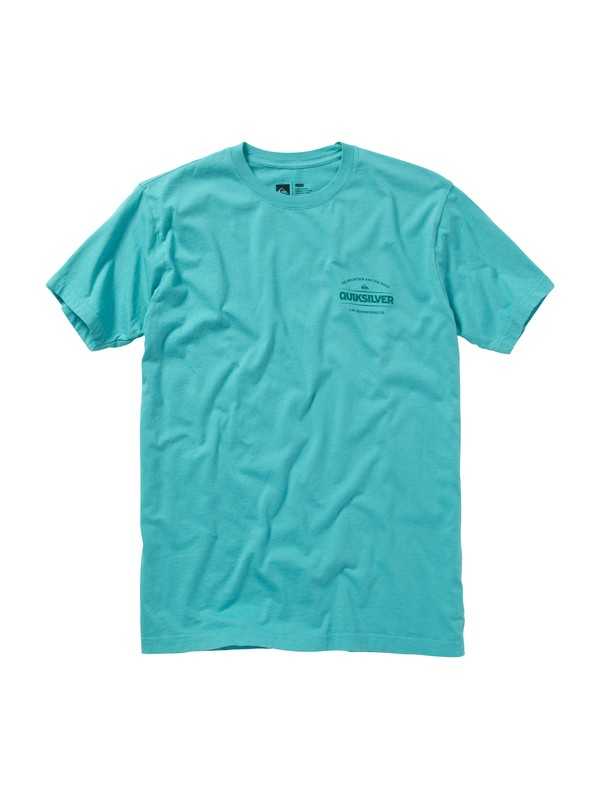 0 Time Travel Slim Fit T-Shirt  AQYZT01159 Quiksilver