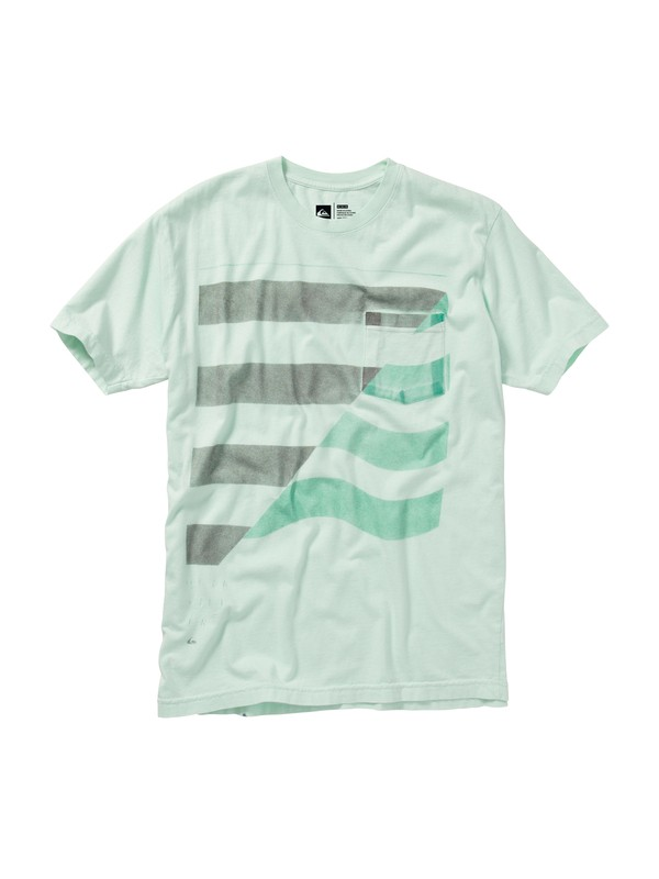 0 Tempted Slim Fit T-Shirt  AQYZT01167 Quiksilver