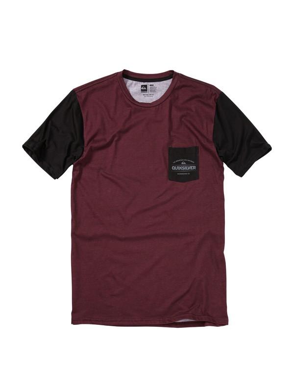 0 Ancestor Slim Fit T-Shirt  AQYZT01230 Quiksilver