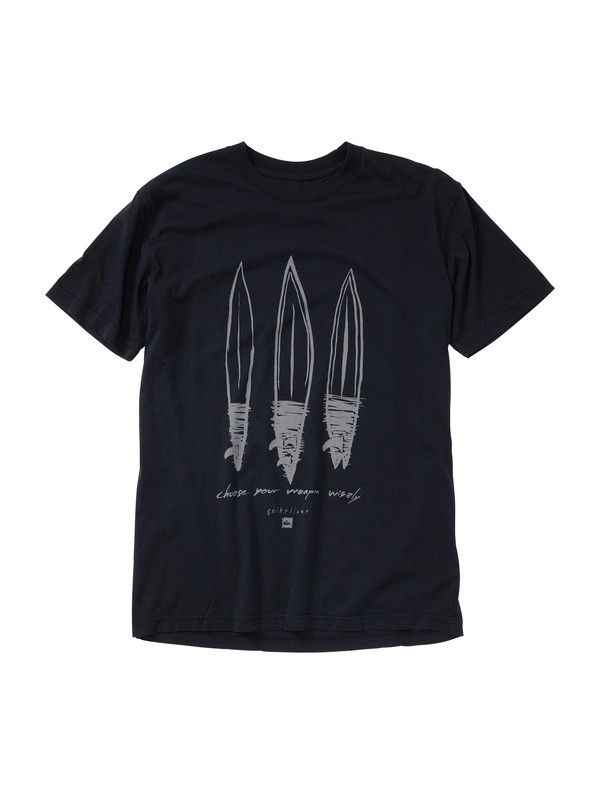 0 Weapons Slim Fit T-Shirt  AQYZT01436 Quiksilver