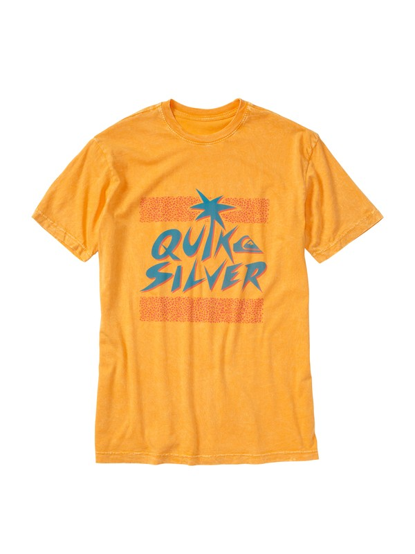 0 Mondo Lizard Slim Fit T-Shirt Orange AQYZT01443 Quiksilver