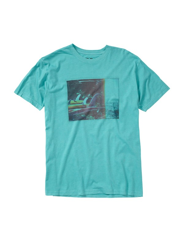 0 Cut Back Slim Fit T-Shirt  AQYZT01446 Quiksilver