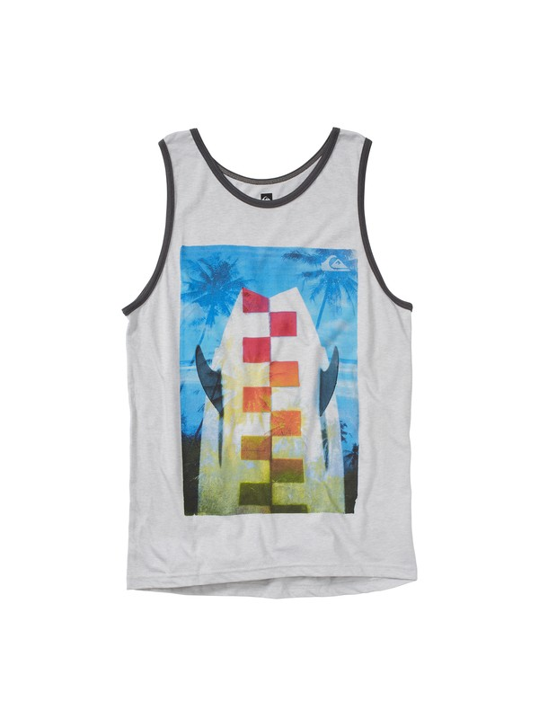 0 Little Ripper Slim Fit Tank  AQYZT01454 Quiksilver