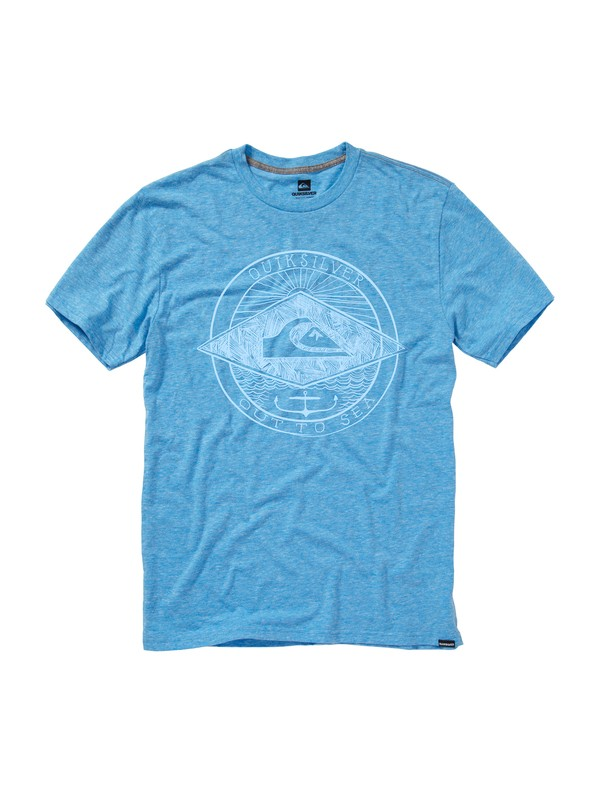 0 Out to Sea Slim Fit T-Shirt  AQYZT01458 Quiksilver