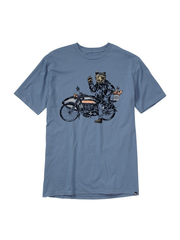 0 Road Trip Slim Fit T-Shirt  AQYZT01474 Quiksilver