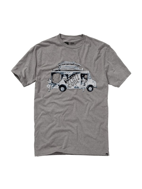 0 Shaved Ice Slim Fit T-Shirt  AQYZT01483 Quiksilver