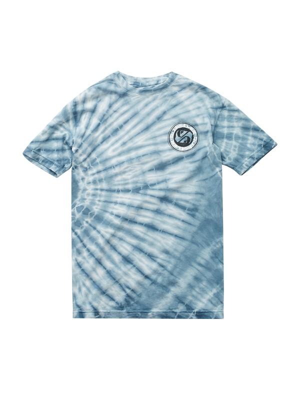 0 Quik Circle Tie Dye T-shirt  AQYZT01861 Quiksilver