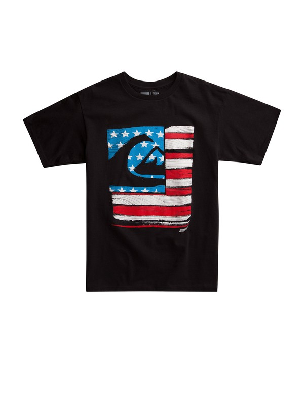 0 Patchwork T-shirt  AQYZT01879 Quiksilver