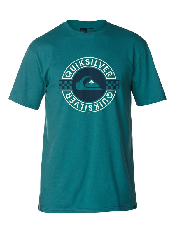 0 Main Break Slim Fit T-Shirt  AQYZT03033 Quiksilver