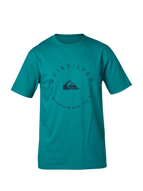 0 Good Circle Slim Fit T-Shirt  AQYZT03038 Quiksilver