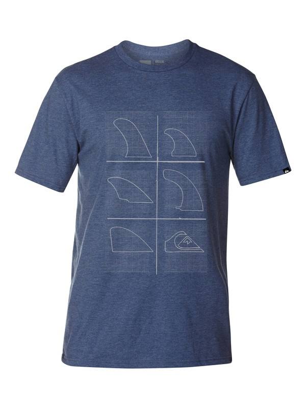 0 Draft Slim Fit T-Shirt  AQYZT03041 Quiksilver