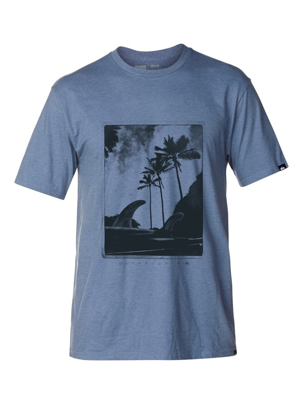 0 On It Slim Fit T-Shirt  AQYZT03044 Quiksilver