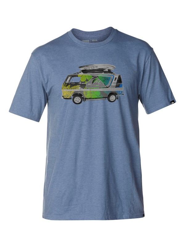 0 Open Road Slim Fit T-Shirt  AQYZT03045 Quiksilver